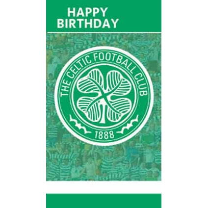 Celtic Happy Birthday Crest Card