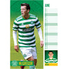 Celtic FC 2021 A3 Wall Calendar Inside