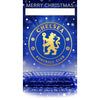 Chelsea FC Any Name Christmas Card Front