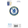 Chelsea FC Any Name Christmas Card Back