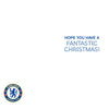 Chelsea FC Any Name Christmas Card Inside
