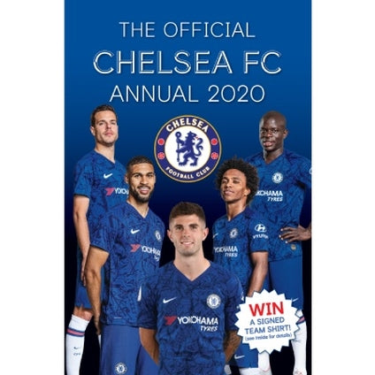 Chelsea Football Club Official 2020 Hardback Annual