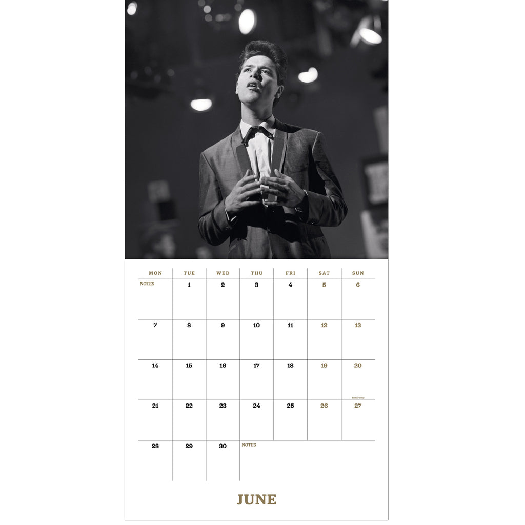 Cliff Richard Collector's Edition Official 2021 Calendar Inside