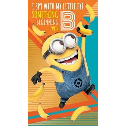 Despicable Me 3 Minion General Birthday Card
