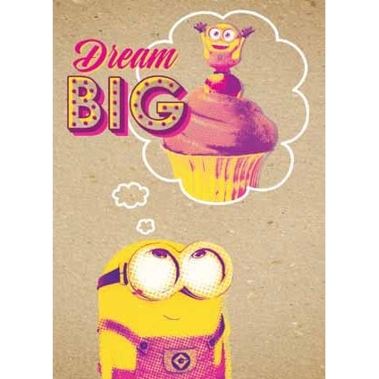 Despicable Me Crafty Minions Dream Big Card