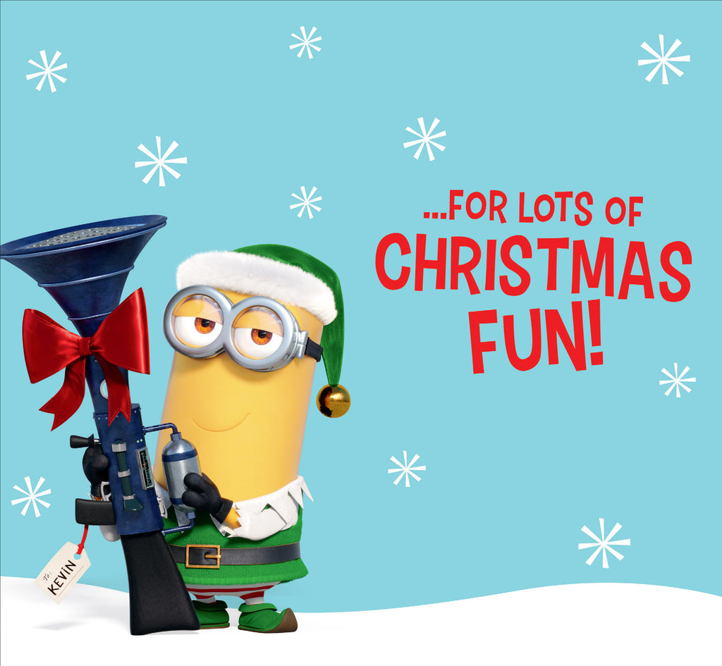 Despicable Me Minions Bro' Get Ready Christmas Card Inside