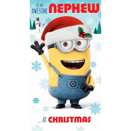 Despicable Me Nephew Christmas Card
