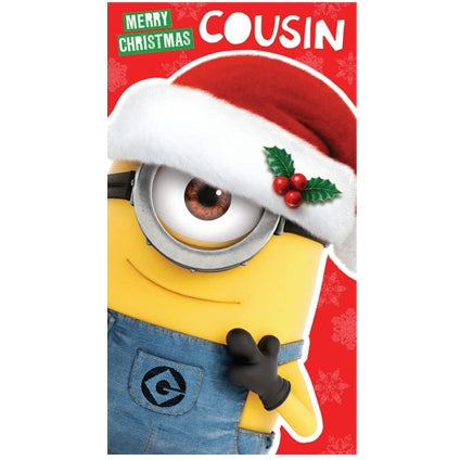 Despicable Me Cousin Christmas Card