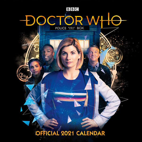 Thirteenth Doctor 2021 Square Wall Calendar Front