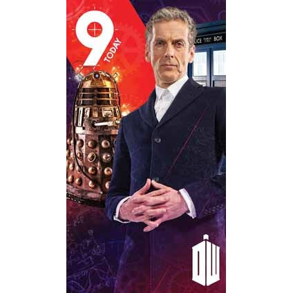 Doctor Who Age 9 Birthday Greeting Card