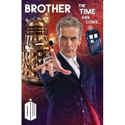 Doctor Who Brother Birthday Greeting Card