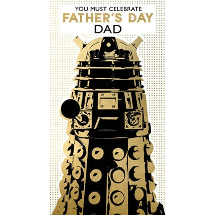 Doctor Who Fathers Day Card