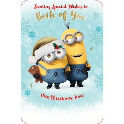 Despicable Me To Both Christmas Card