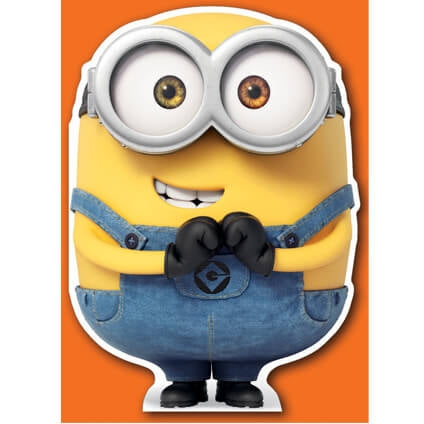 Minion Die-Cut Birthday Card