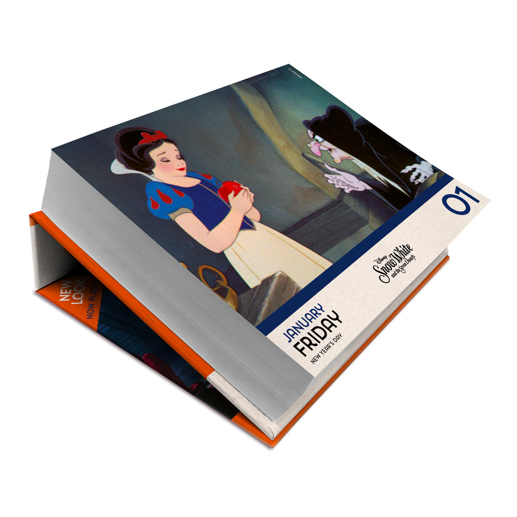 Disney Animation 2021 Desk Block Calendar Inside 1