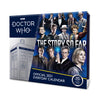 Doctor Who Official 2021 Desk Block Calendar Front