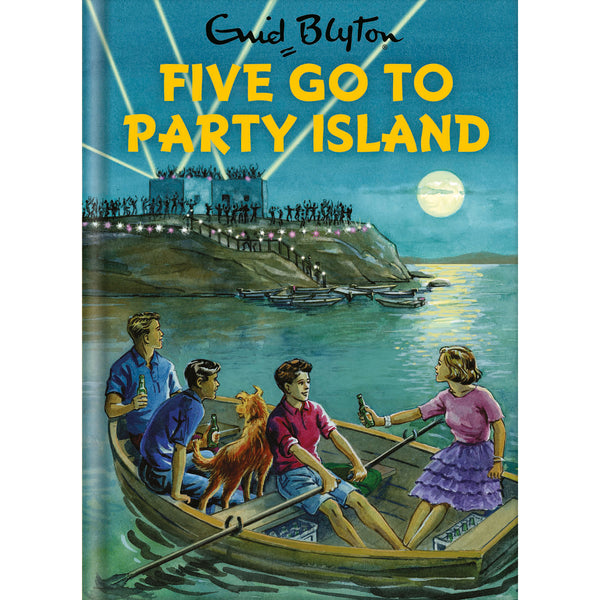 Five Go To Party Island Birthday Card Front