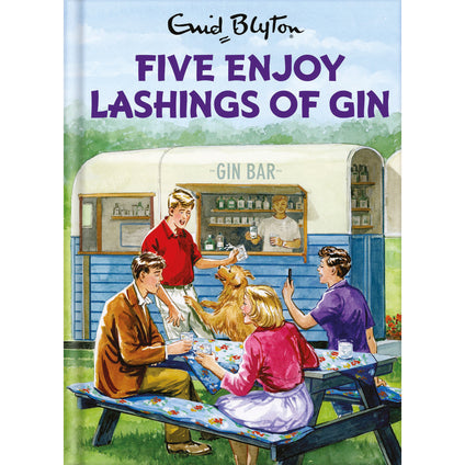 Enid Blyton Five Enjoy Lashings Of Gin Card