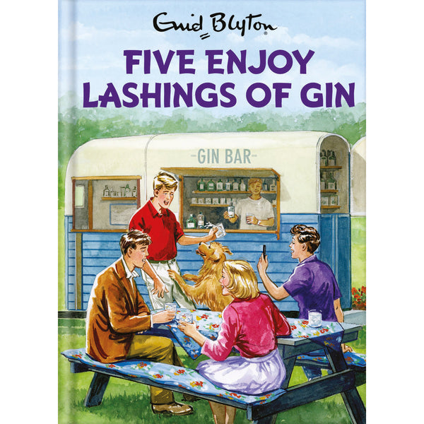 Five Enjoy Lashings Of Gin Front