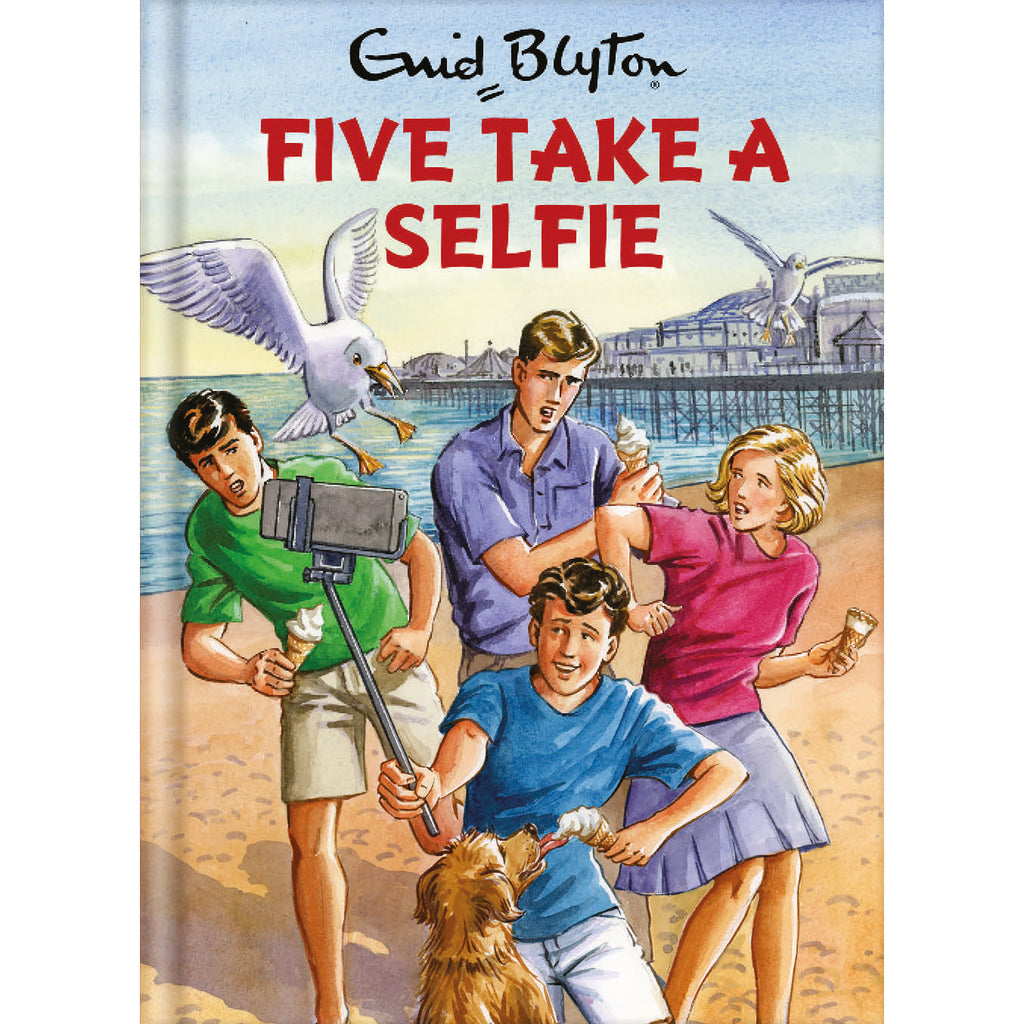 Five Take A Selfie Birthday Card Front