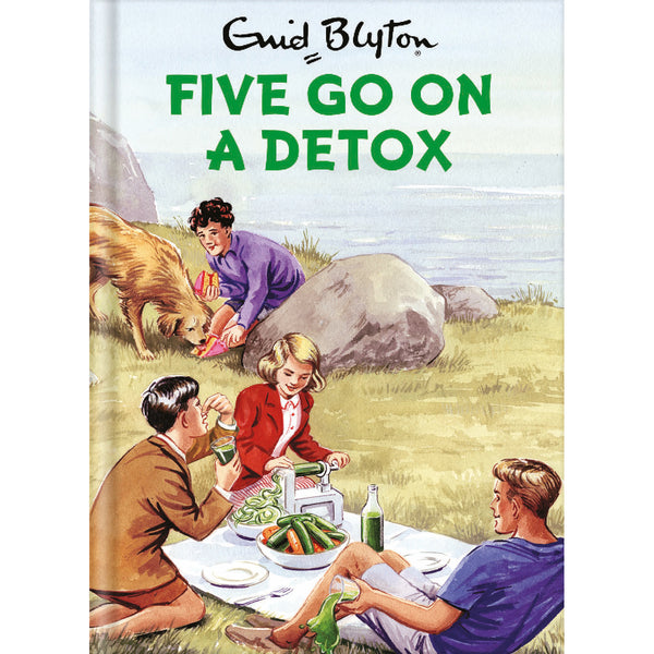 Five Go On A Detox Front