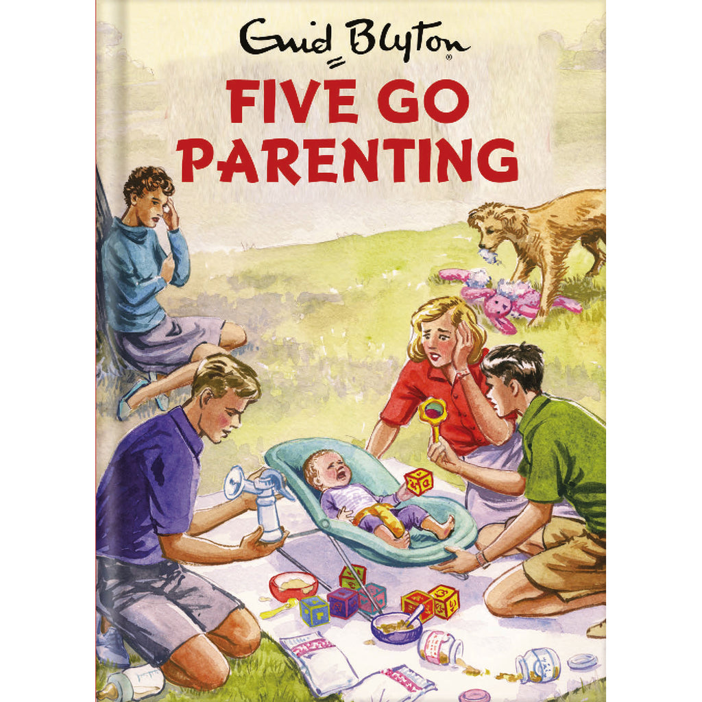 Five Go Parenting Card Front