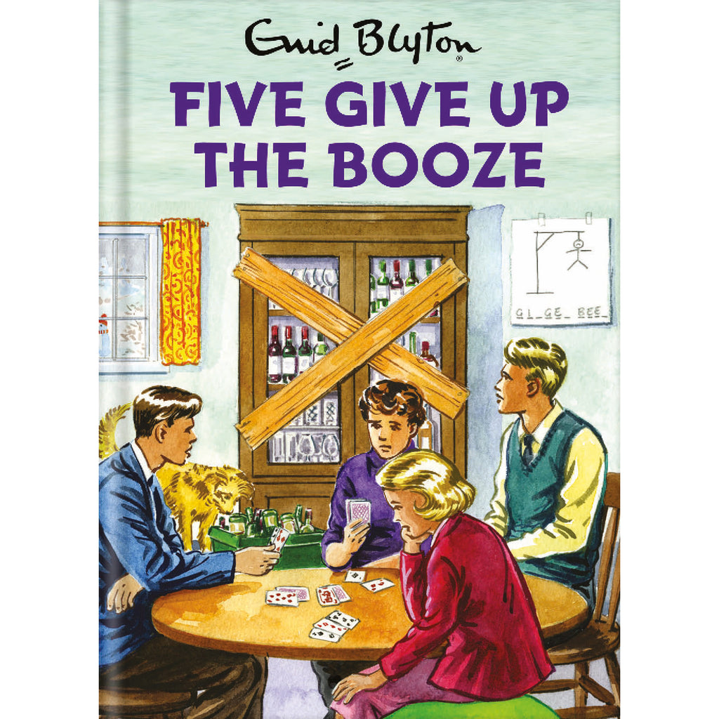 Five Give Up The Booze Birthday Card Front