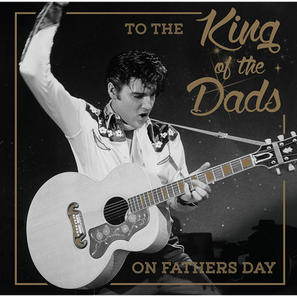 Elvis Father's Day Card
