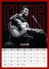 Elvis Official 2021 A3 Wall Calendar Inside