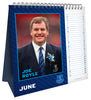 Everton Official 2021 Desk Easel Calendar Inside