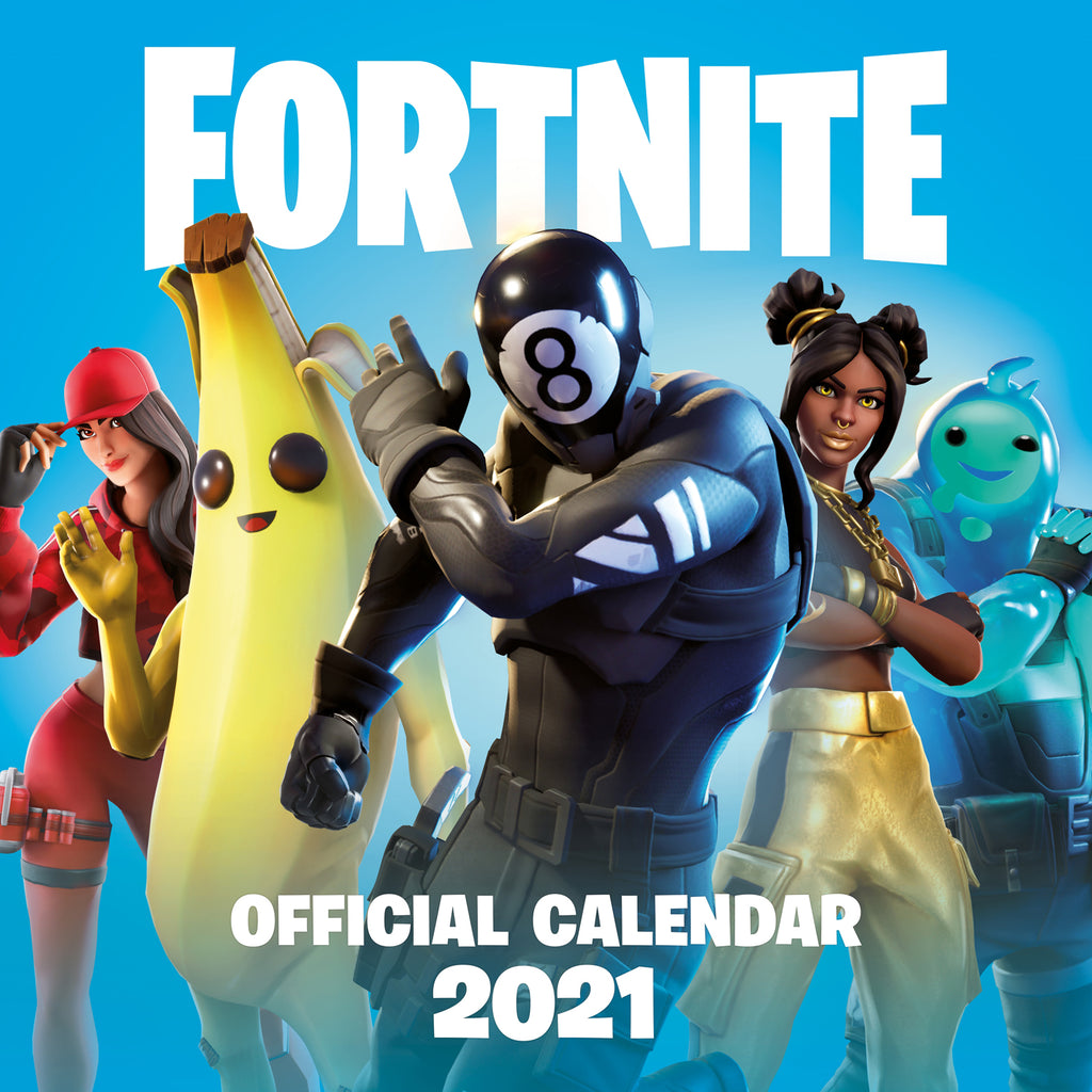 Fortnite Official 2021 Square Wall Calendar FRONT