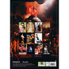 Freddie Mercury Official 2021 A3 Calendar BACK