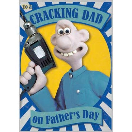 Wallace & Gromit Fathers Day Sound Card