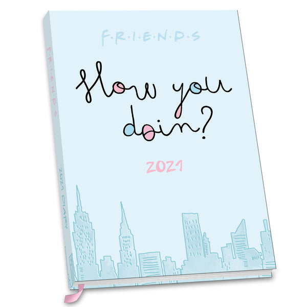 Friends 2021 A5 Diary Front