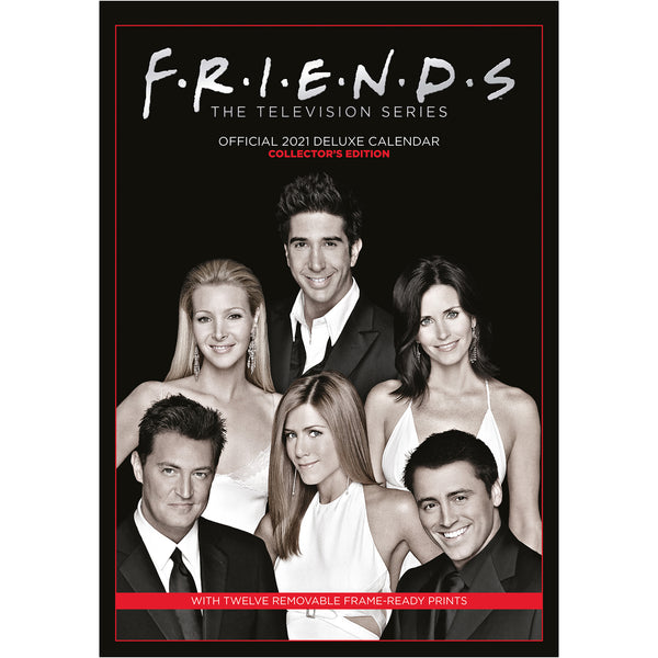 Friends 2021 Deluxe Special Edition A3 Wall Calendar Front