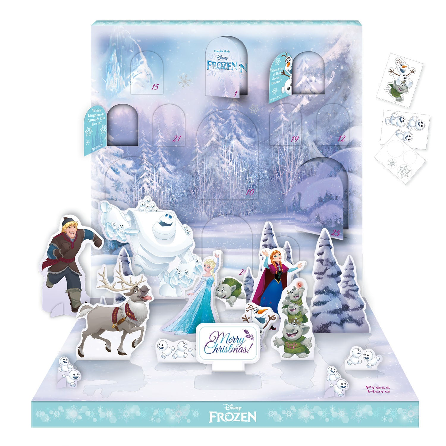 Disney Frozen Official Musical Advent Calendar