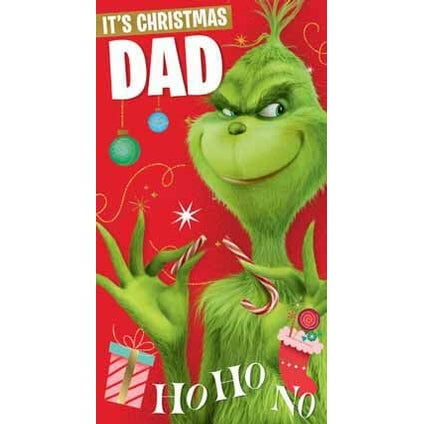 Grinch Dad Christmas Card