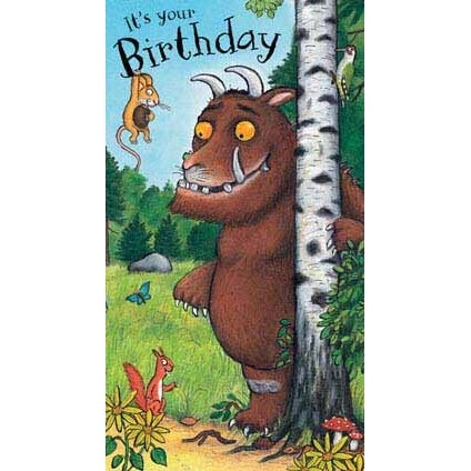 The Gruffalo General Birthday Card