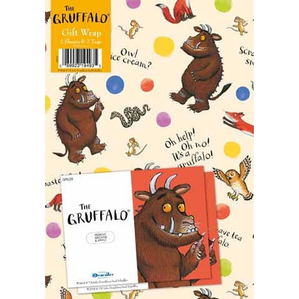 The Gruffalo 2 Sheets And Tags