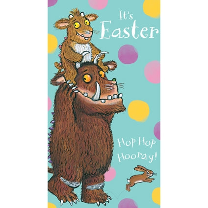 The Gruffalo Easter Card