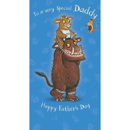 The Gruffalo Fathers Day Daddy Card
