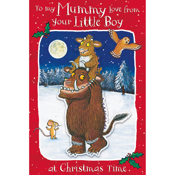 The Gruffalo Mummy Christmas Card Front