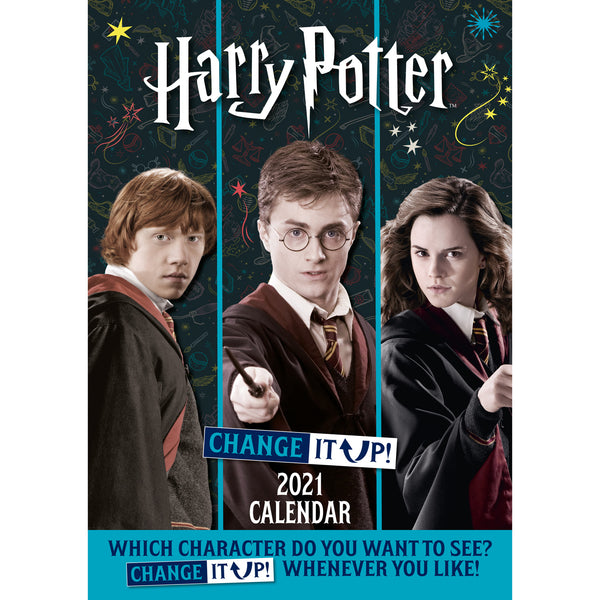 Harry Potter Change It Up 2021 A3 Calendar Front