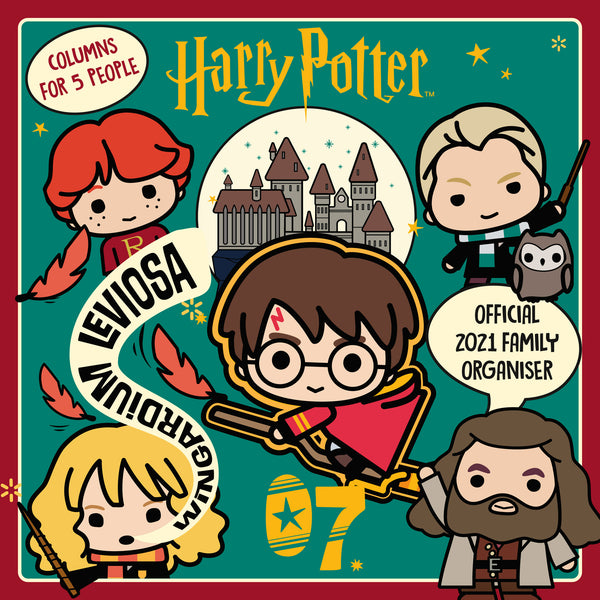 Harry Potter Family Organiser 2021 FRONT