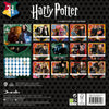 Harry Potter Official Mini Calendar 2021 BACK