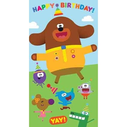 Hey Duggee Happy Birthday Card