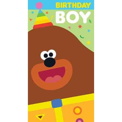 Hey Duggee Birthday Boy Card