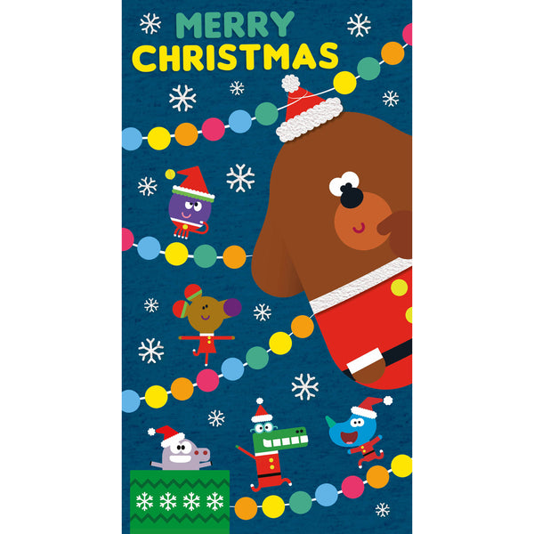 Hey Duggee Christmas Card Front