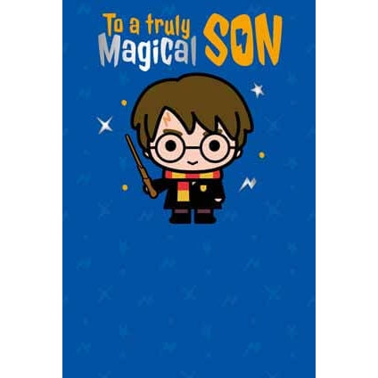 Harry Potter Son Birthday Card