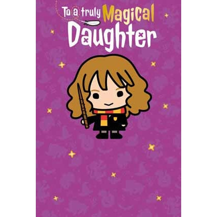 Harry Potter Daughter Birthday Card